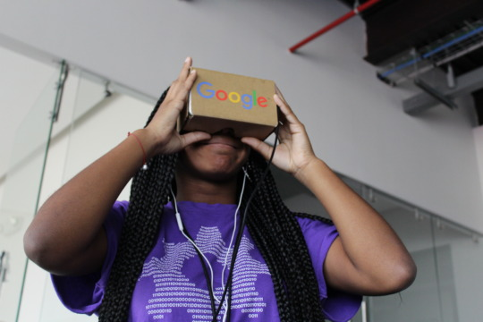 Virtual reality!