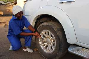 Aisha is renowned mechanic and personal driver.