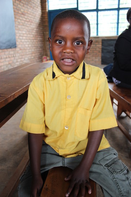 Four-year-old Herbert attends play group