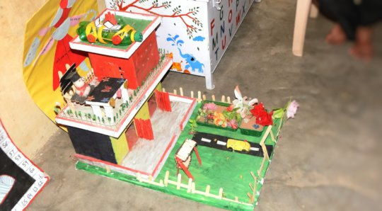 Model Created by Pathshala Girl Child !
