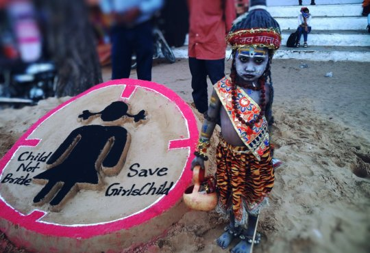Child not bride, End child marriage