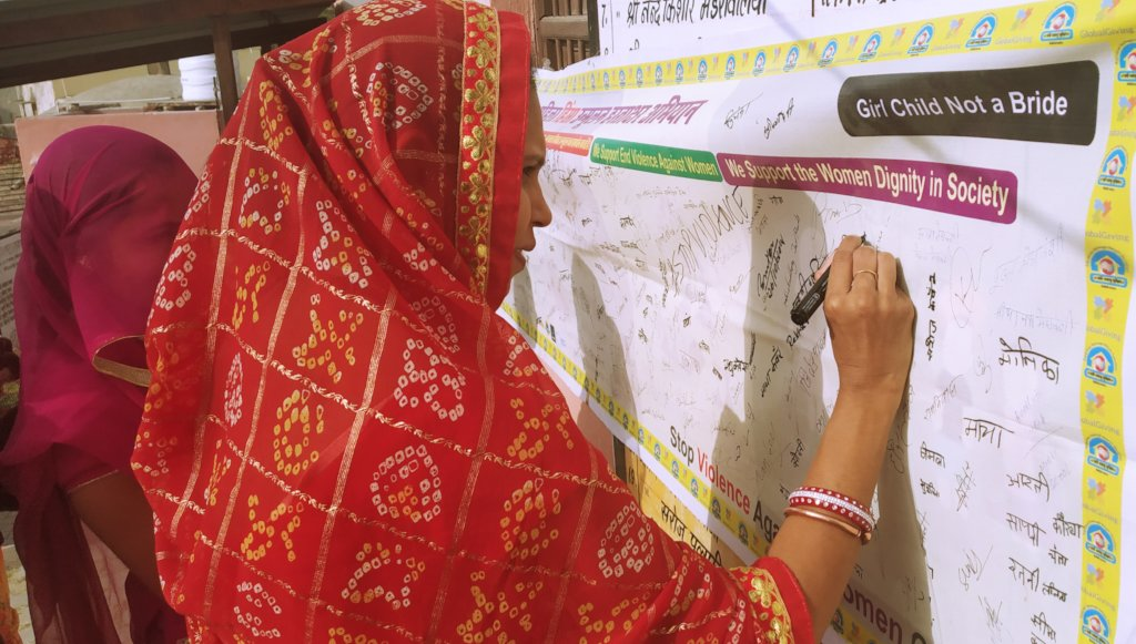 Signature Campaign on Gender Issues!