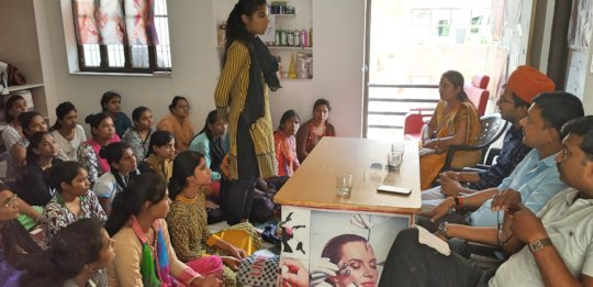 Interaction with Trainees in Vocational Education