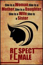 Respect women's