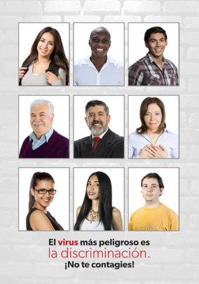 Discrimination: the most dangerous virus
