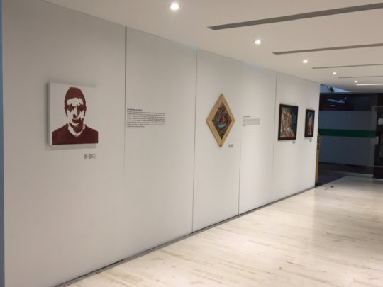 """Our exhibition """"HIV a glance through the art"""""""