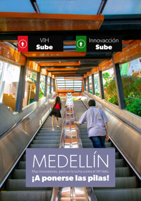 Medellin is innovation, but HIV is rising, ACTION!