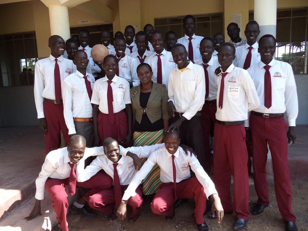 Teach 250 Students Farming Skills in South Sudan