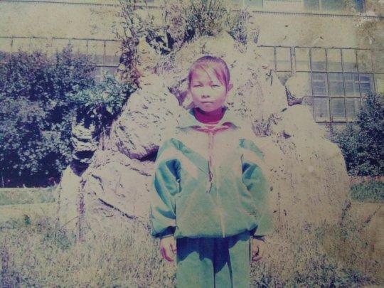 Xiaoli in childhood