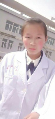Xiaoli as a Medical School student now