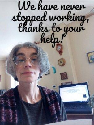 Elena, volonteer