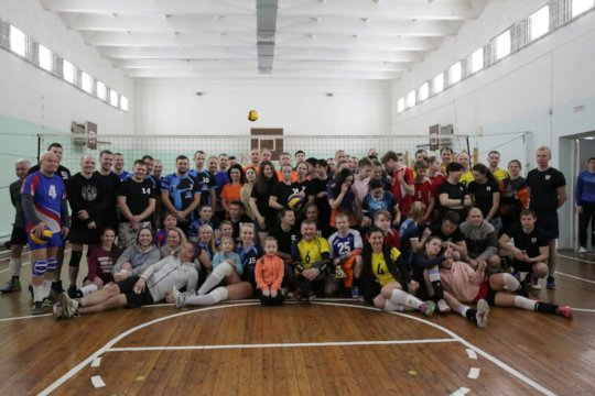 She organized competitions for volleyballers