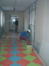 Hallway - toward the future bathroom