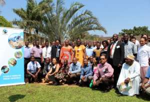 Group photo of conference participants-Swaziland