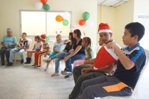 Celebrating Christmas, Medellin baseball players