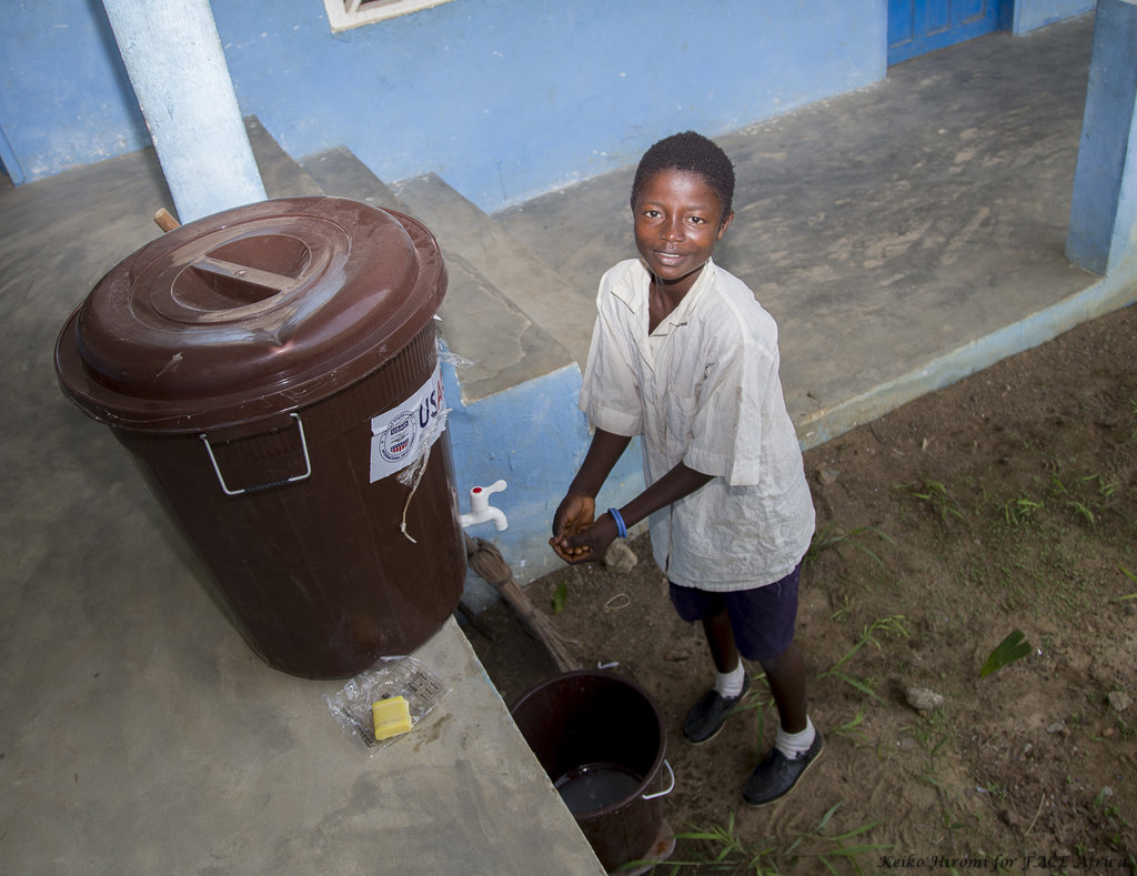 Strengthen WASH in schools in rural Liberia