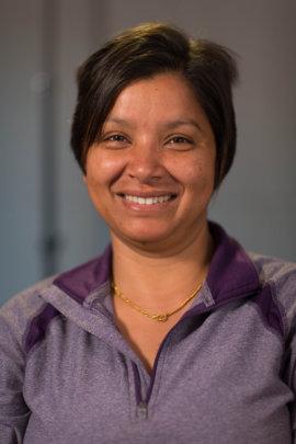 Portrait of Sunita as taken by Namuna
