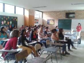 Workshop with teachers