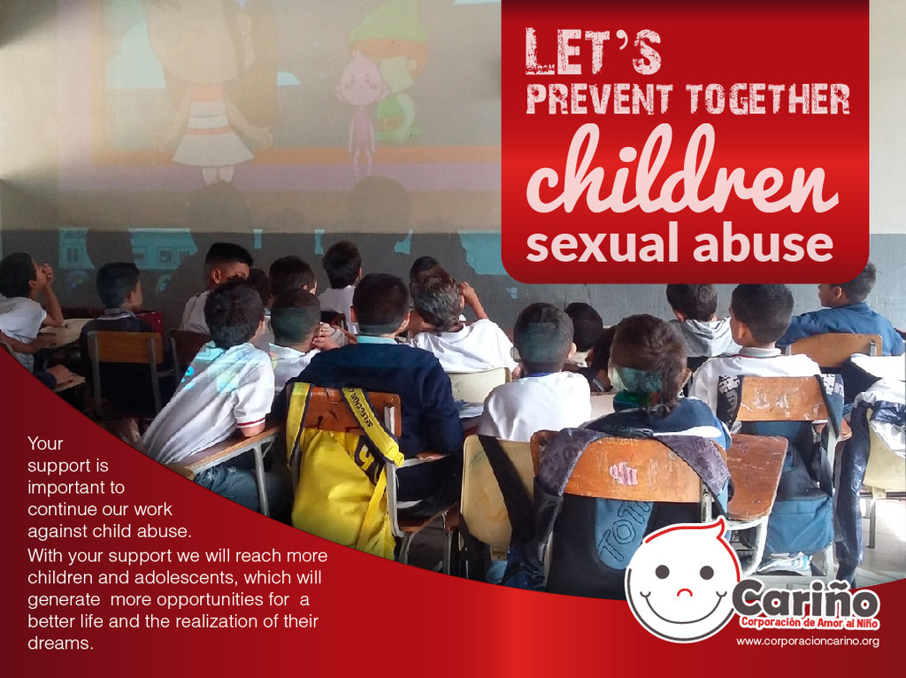 Let's prevent together children sexual abuse