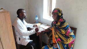 Bafmen Fulani Community Member at Clinic Outreach