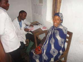 Bafmen Fulani Community Member at Outreach