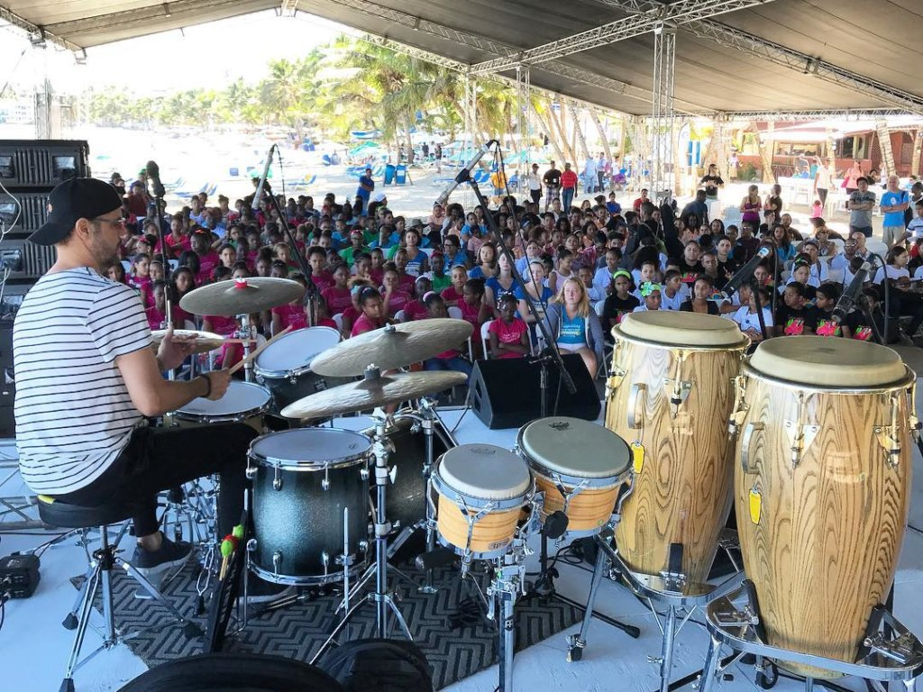 Music Education 150 Children of Dominican Republic