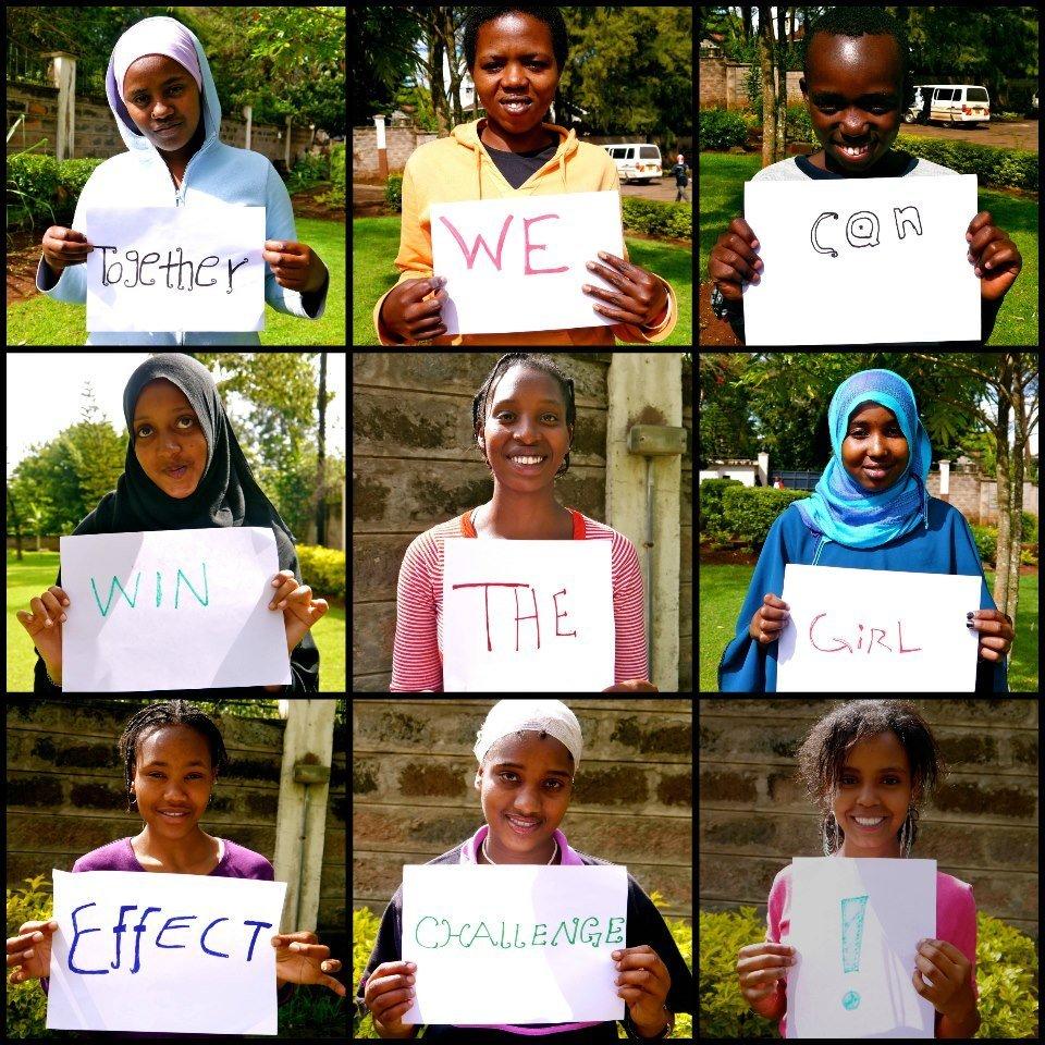 Heshima Kenya, a 2012 Girl Effect Challenge Winner