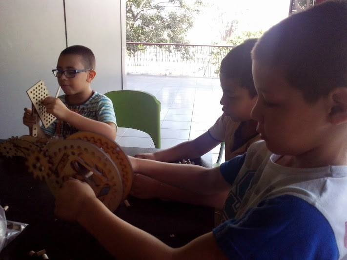Supporting children in learning labs