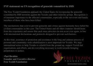 US recognition of genocide