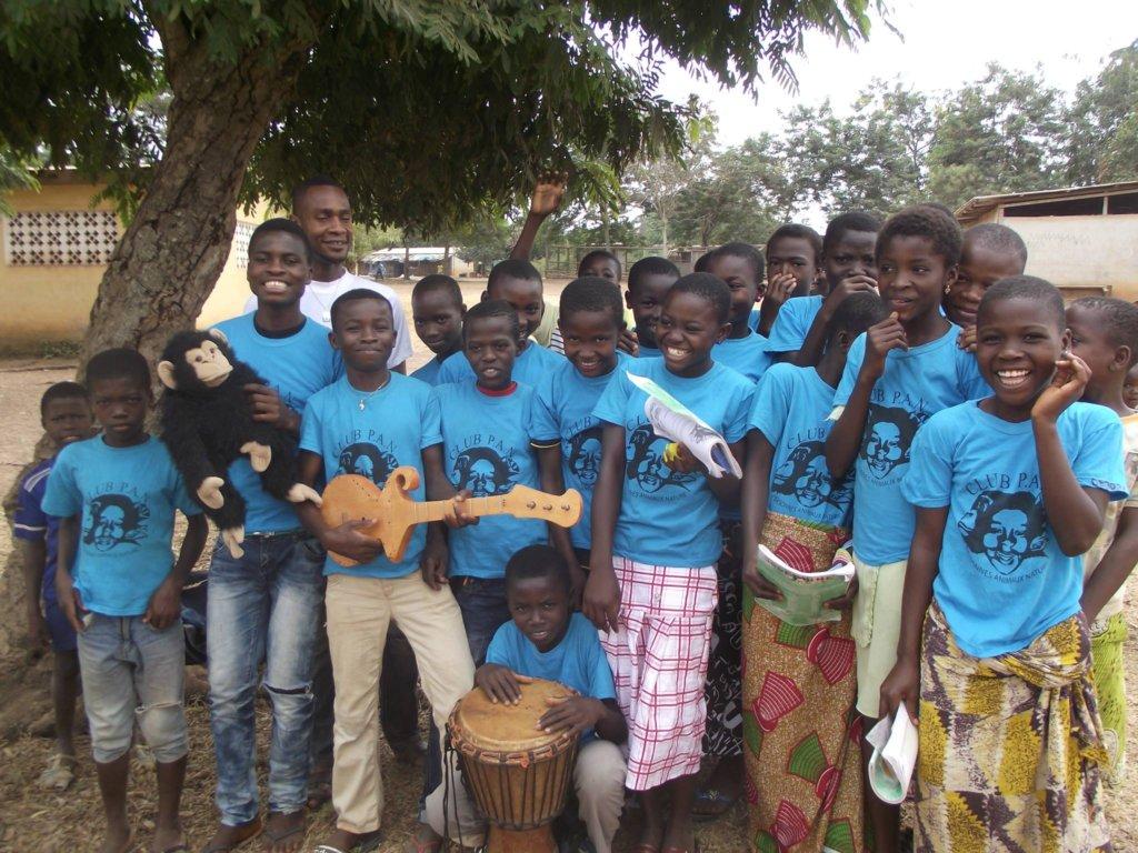 Club P.A.N. children in Cote d