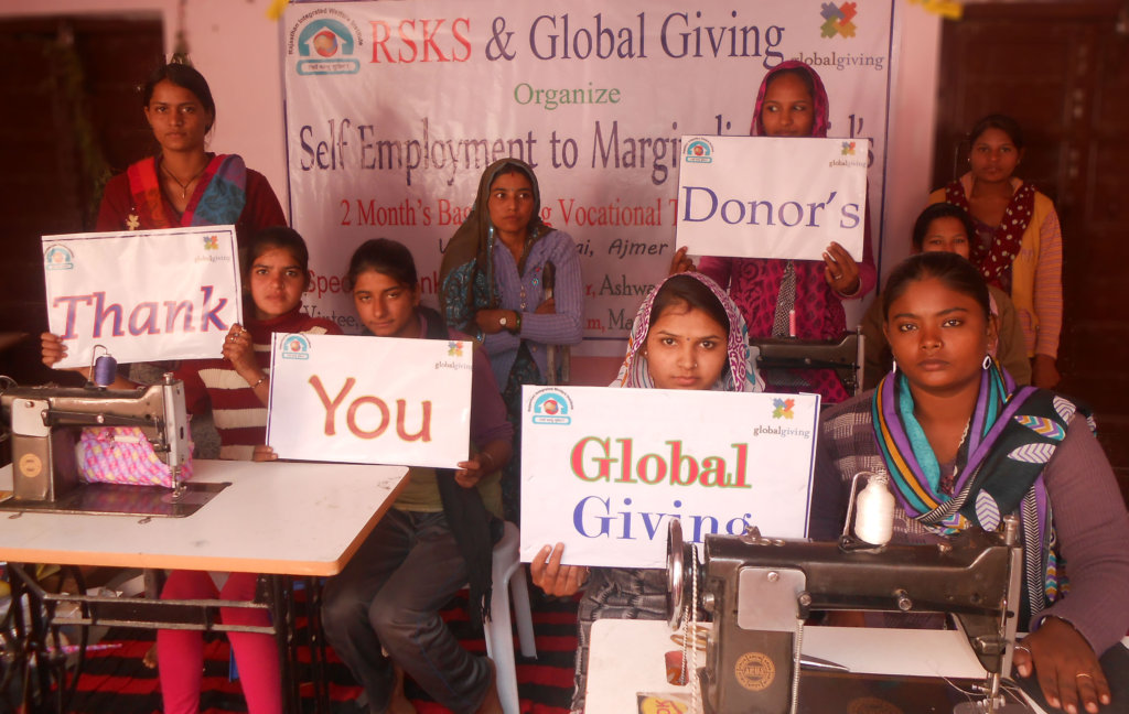 Employment for 20 marginalized Girls