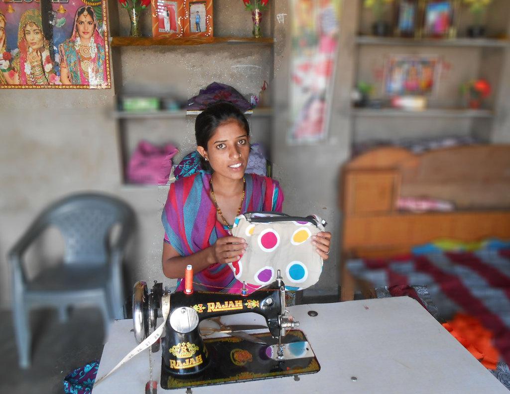 Provide Self-employement to 20 Marginalized Girls