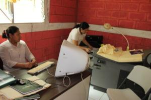 Karina and Casa Maurita nurse