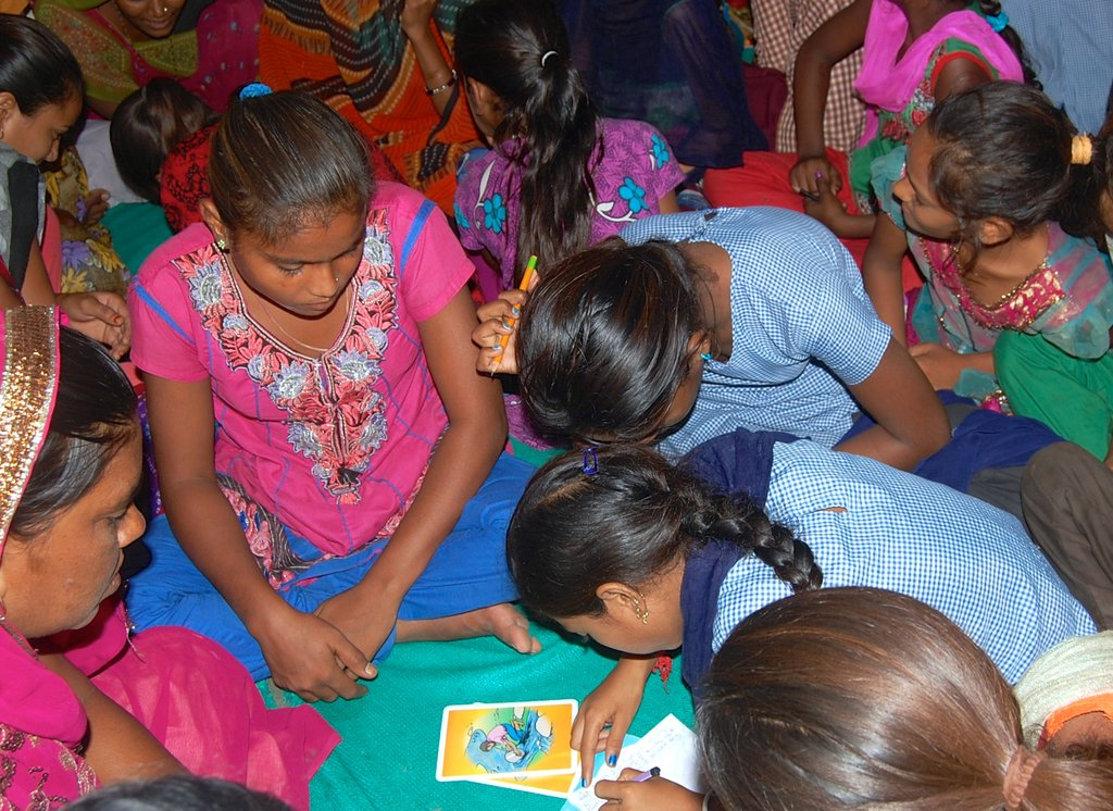 Provide hygiene education to village in India