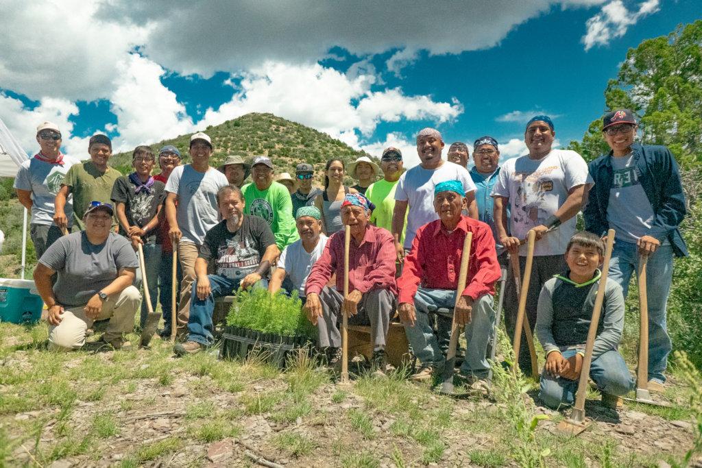 4 Generations of Tree Planters!