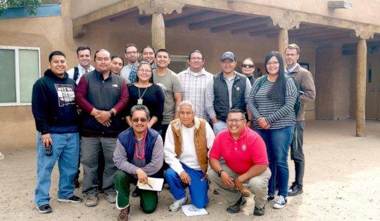 Jemez, Cochiti, and Santo Domingo Pueblo Meeting