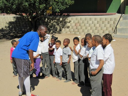 Zola - giving back to his community after prison!