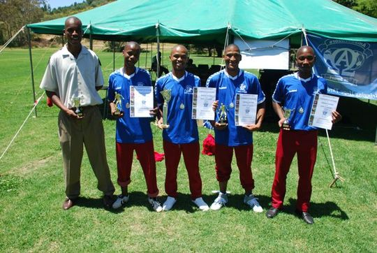 Awards given to players for the 2008 Drakenstein Academy. The bo