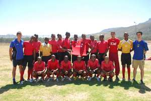 New 2012 Squad with a signed Liverpool shirt.