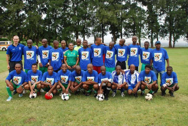 Westville Prisoners after Soccer Clnic