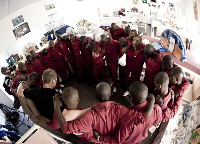 Young men in prison face gangs, rape and violence, normally hope is loss and their seems no way out. However Hope Academy offers a way out through sport, here is a picture of our Hope Academy team, full of young men, who are fighting against the norms of prison life. Hope has been born!!