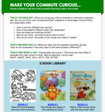 Parent emails = 365 days of literacy training