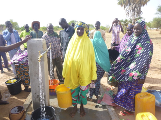 New Solar Powered Water Pump - Opening Day