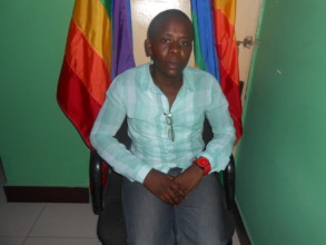 Abdallah  Mdongo  an activist for LGBTQ movement