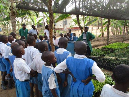 CHILDREN VISITING DNRC