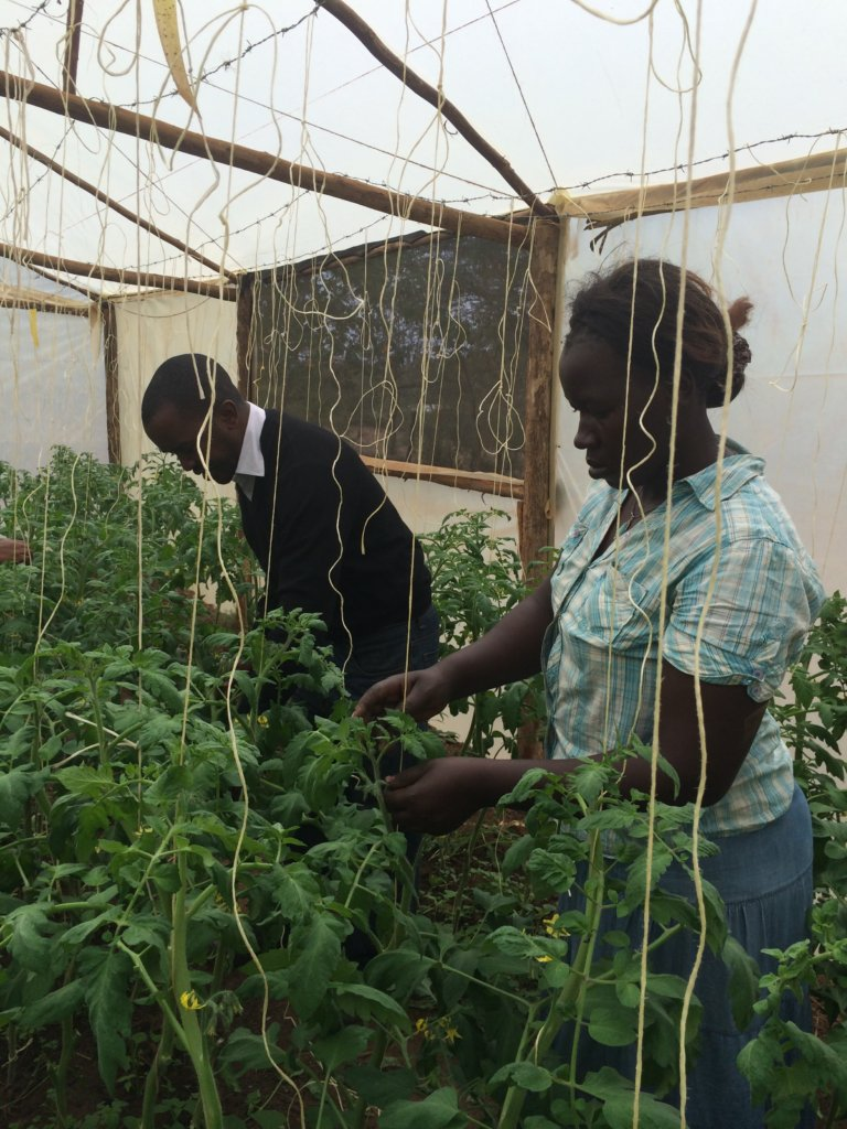 Nutrition through food forests & gardens in Kenya