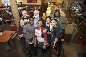 Father Boyle & Homegirl Cafe Staff