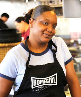 Homegirl Cafe alumna Laneshia
