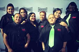 Homegirl Cafe workers at last year's Lo Maximo