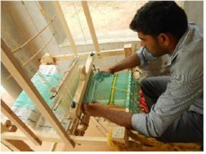 Weaving by Student